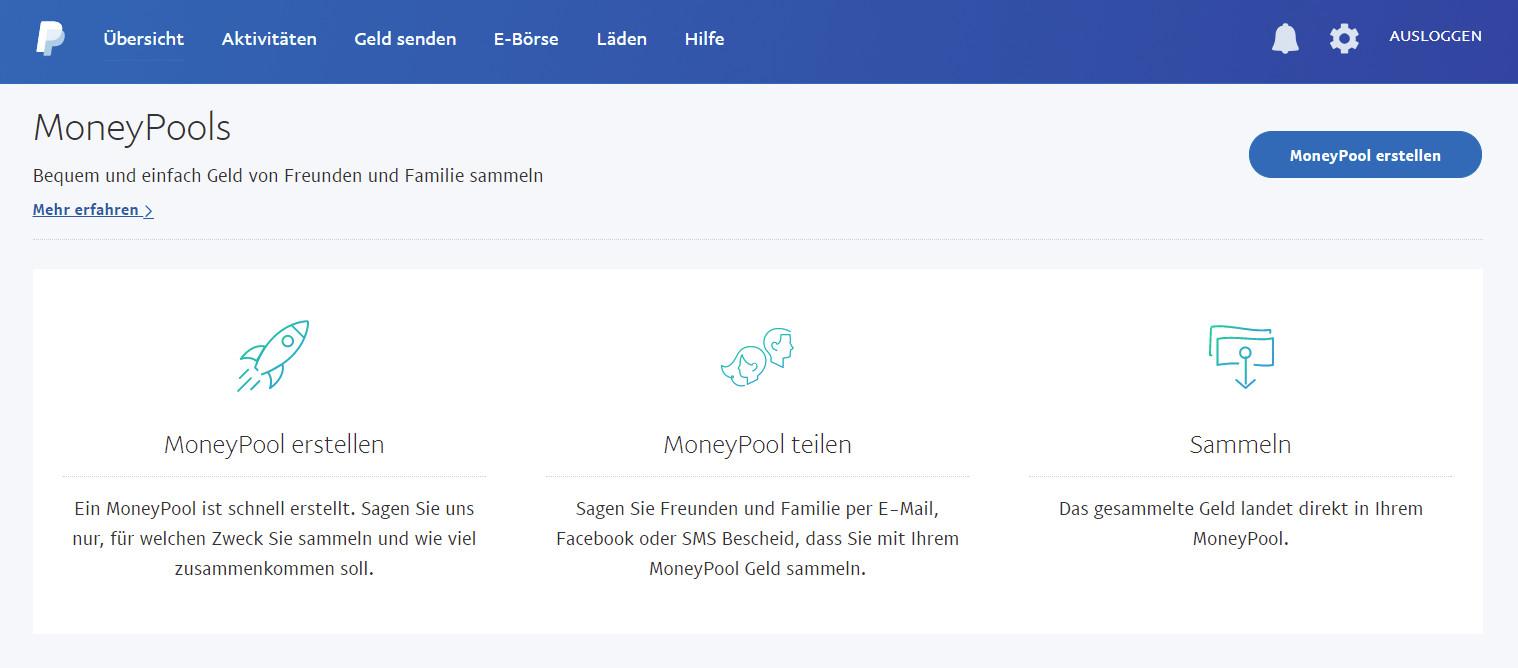 PayPal MoneyPool