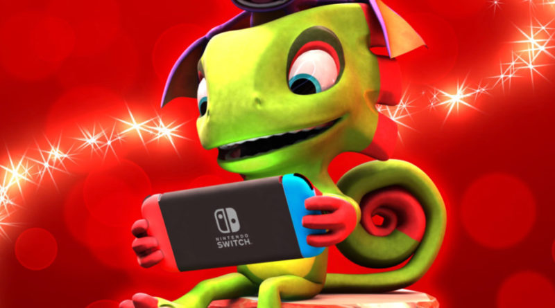 Nintendo Switch Yooka-Laylee