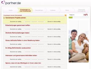 Persönlichkeitstest bei Partner.de