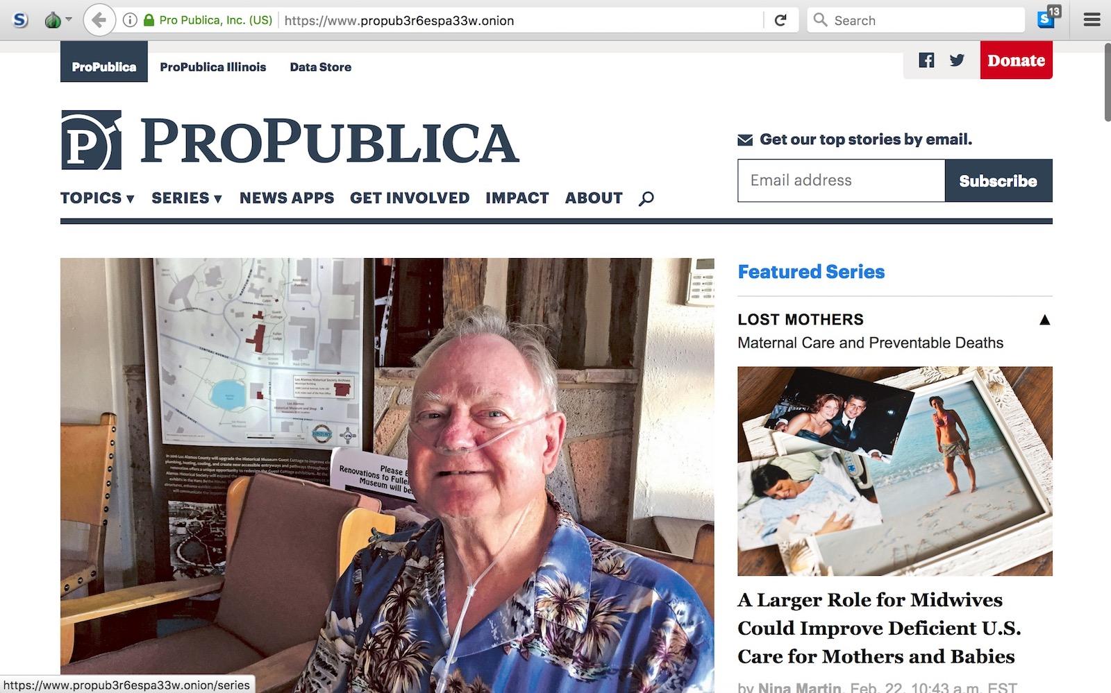 ProPublica .onion