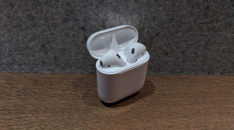 Das Ladecase der Apple AirPods