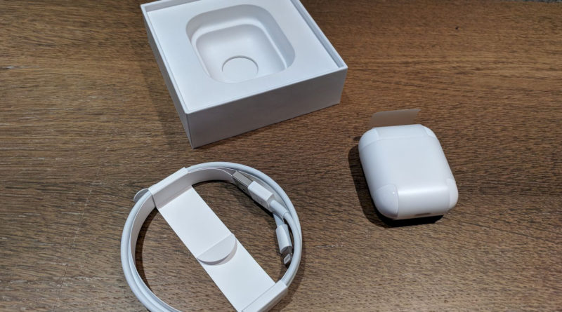 Lieferumfang der Apple AirPods
