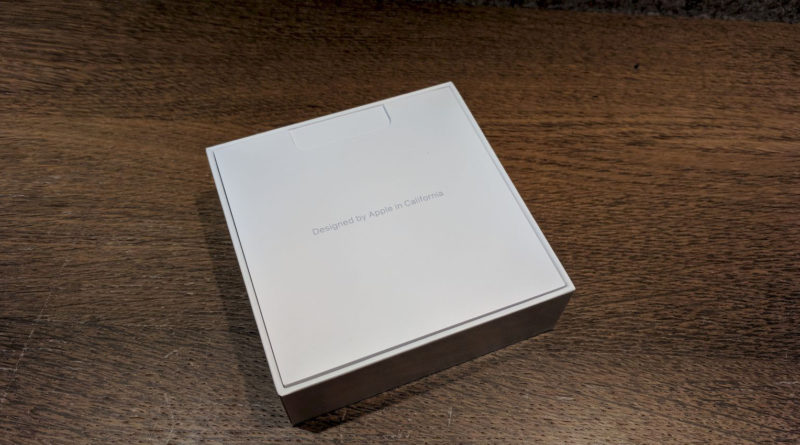 Unboxing der Apple AirPods