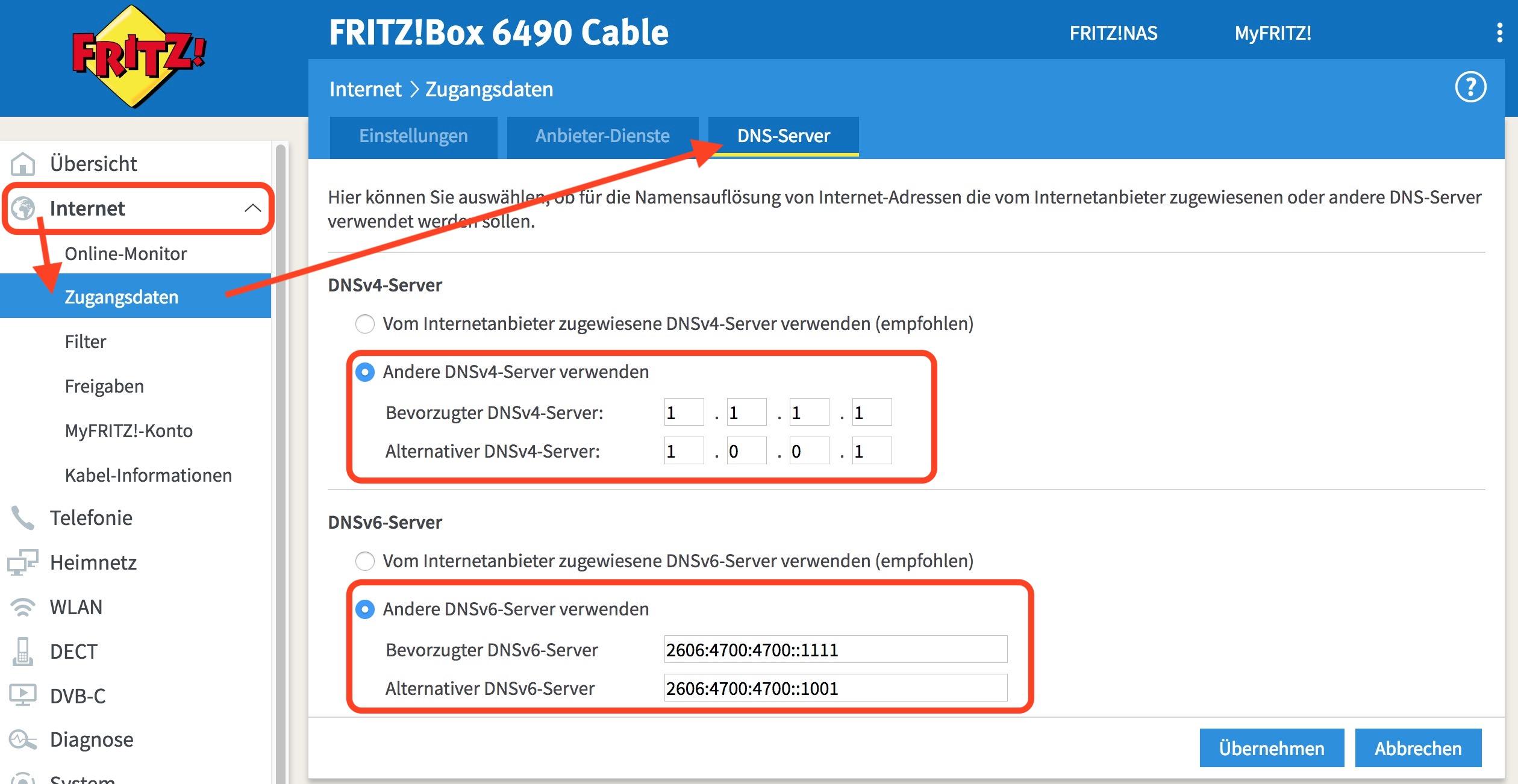 Cloudflare: Den schnellen DNS-Server 1.1.1.1 nutzen