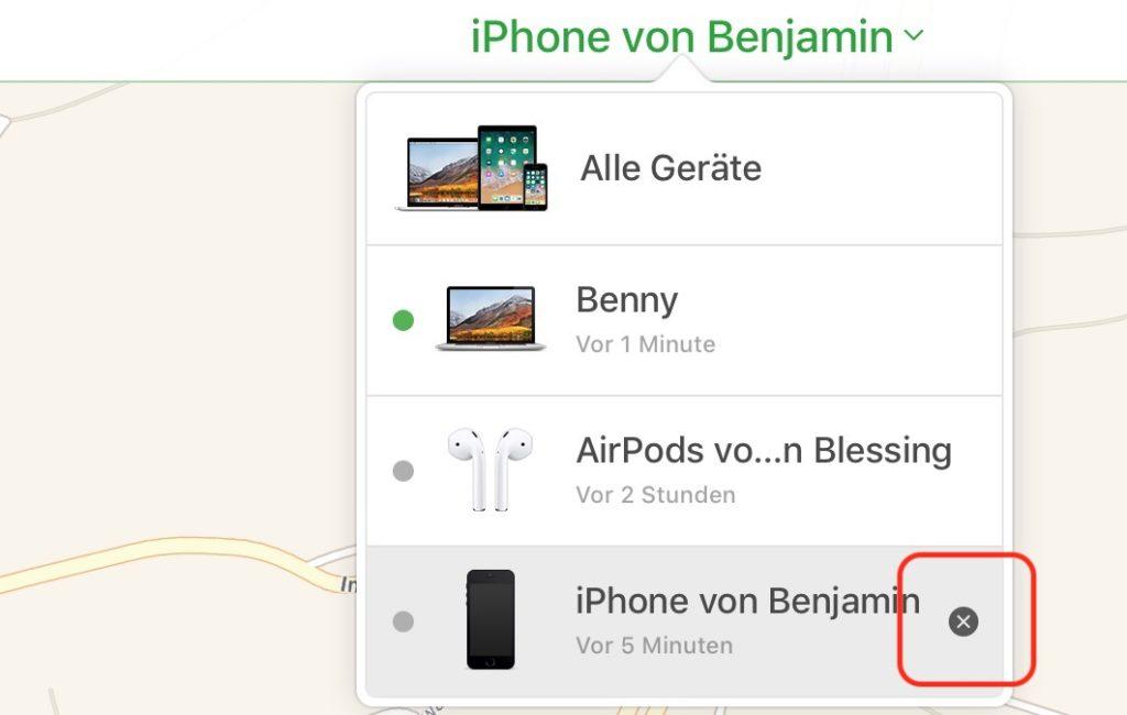 iPhone Suche deaktivieren, iPad Suche ausschalten