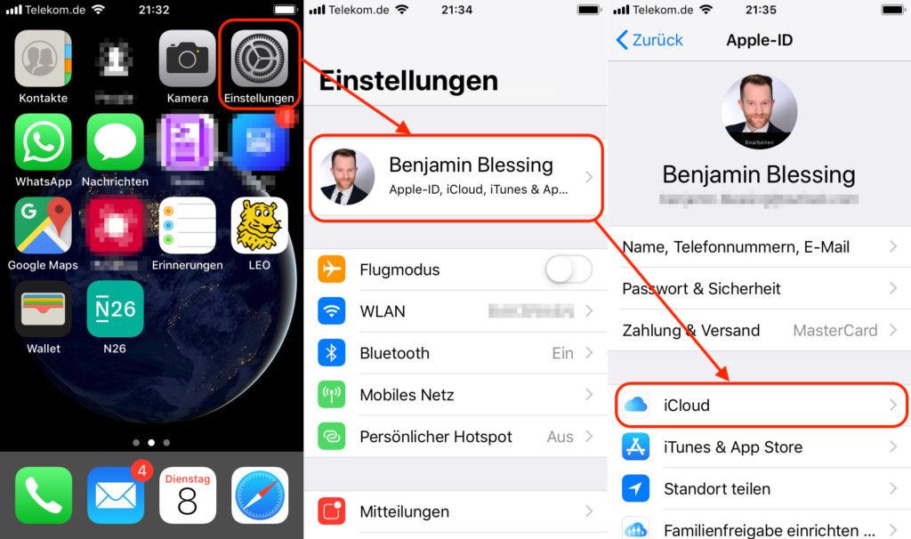 iPhone-Suche löschen