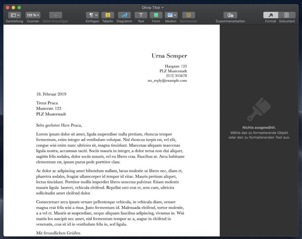 Apple Pages Vorlagen Erstellen So Einfach Geht Es
