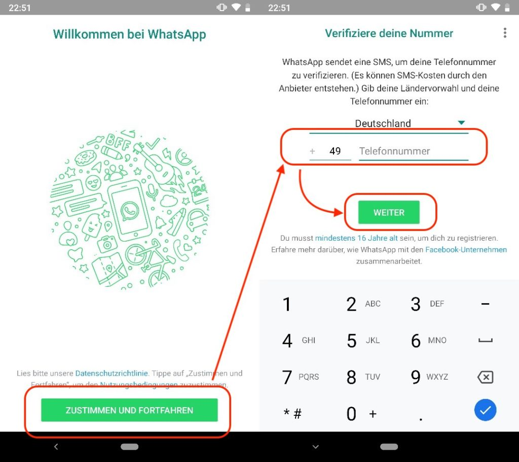 kann man ein whatsapp account hacken