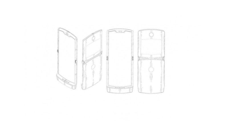 Motorola Razr 2019 Patent Antrag