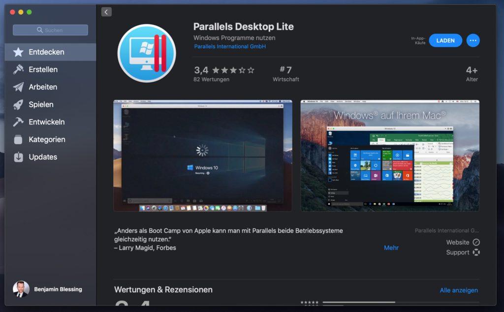 macOS in virtueller Maschine installieren