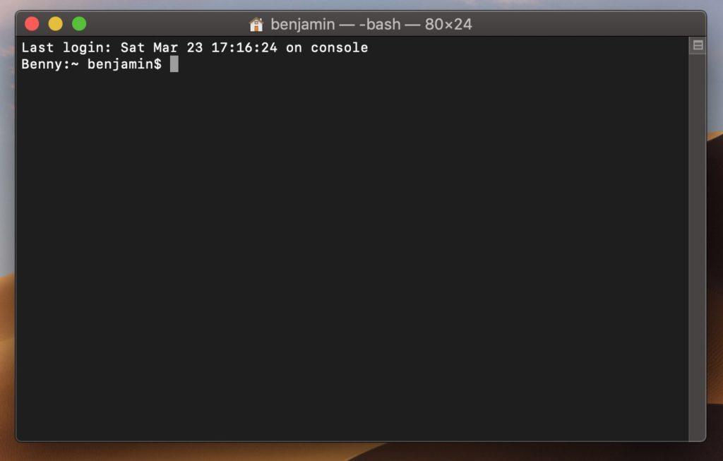 Mac Terminal Befehle erleichtern die Arbeit