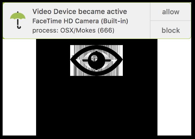 OverSight kontrolliert den Zugriff auf Mikrofon und Kamera
