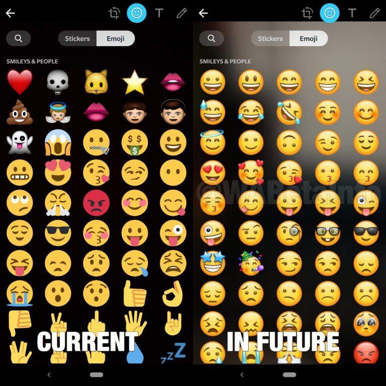 Die neuen WhatsApp Emojis
