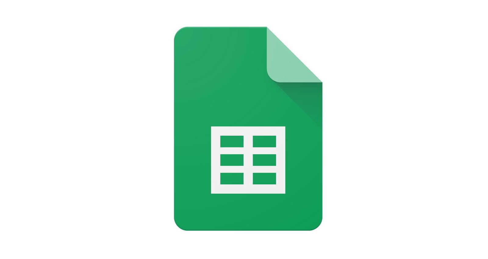Google Tabellen Logo
