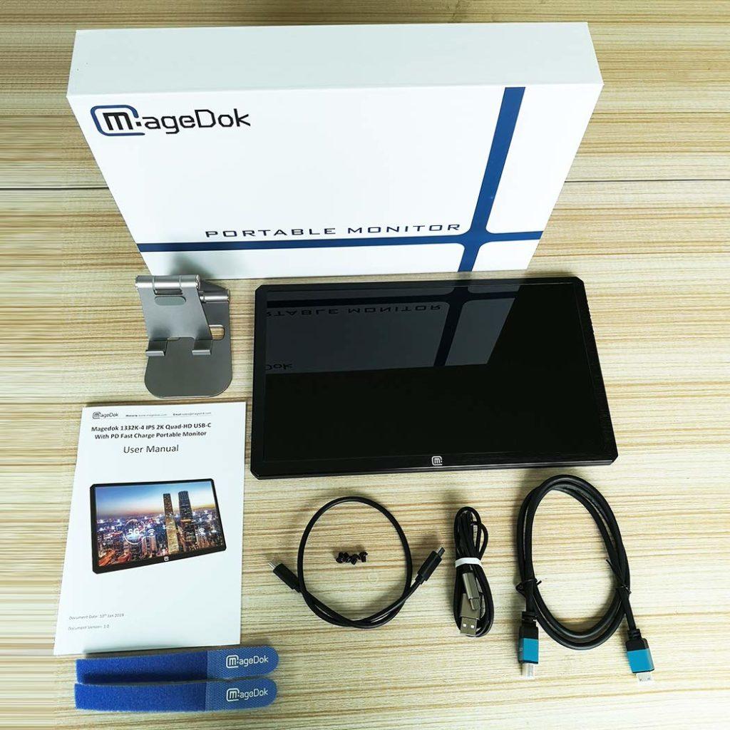 Das Magedok Display in 13,3 Zoll mit USB-C