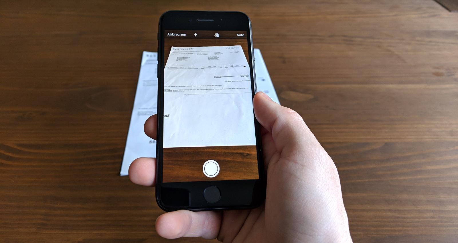 PDFs auf dem iPhone und iPad mit Apple Notizen erstellen
