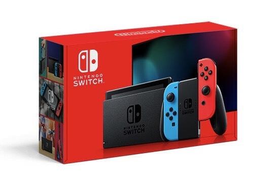 Die neue Verpackung der Nintendo Switch mit besserer Akkulaufzeit