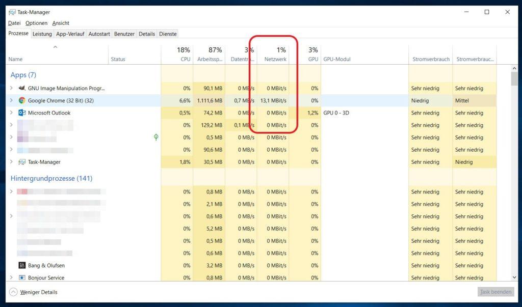 Windows 10 Task-Manager öffnen