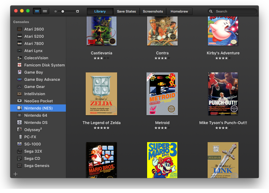 OpenEmu Spiele Emulator