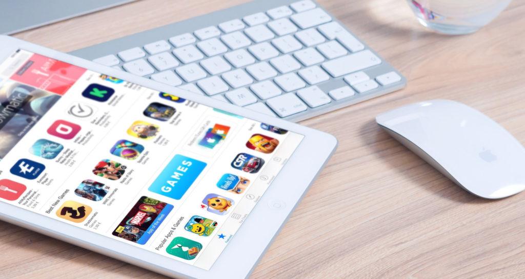 Maus und Tastatur am iPad