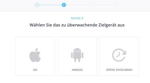 Handy Betriebssystem auswählen