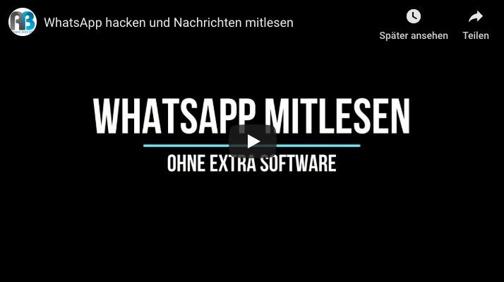 Anleitung zum WhatsApp hacken ohne Handy