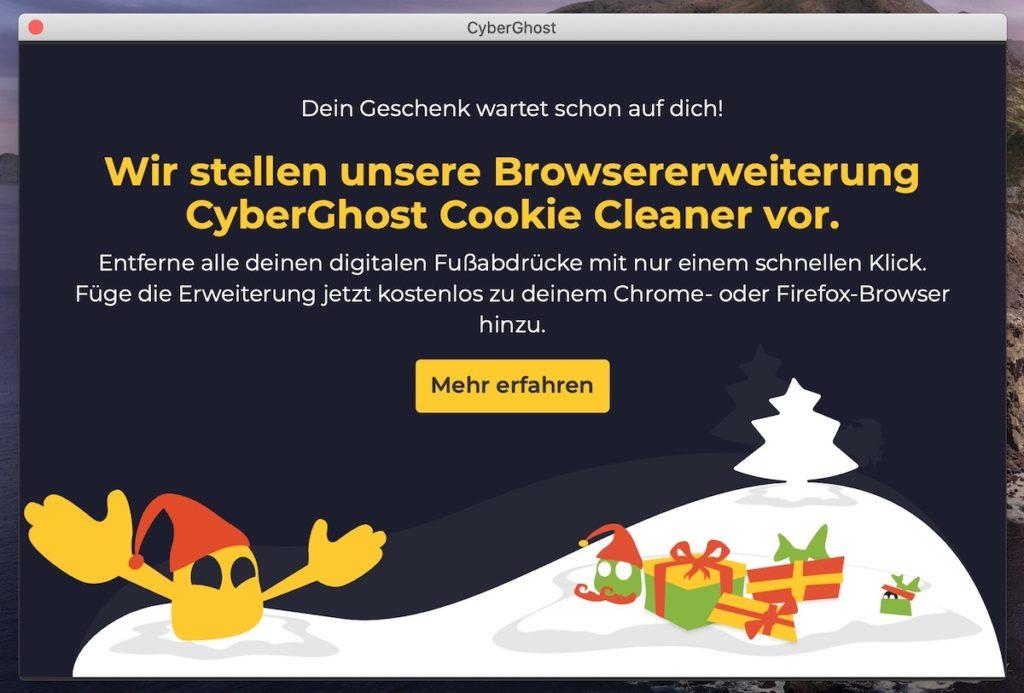 CyberGhost Werbung