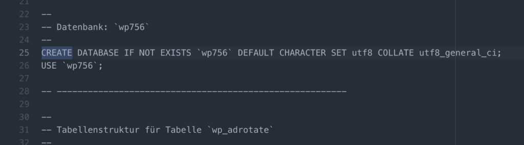 MySQL Fehler 1044 beheben
