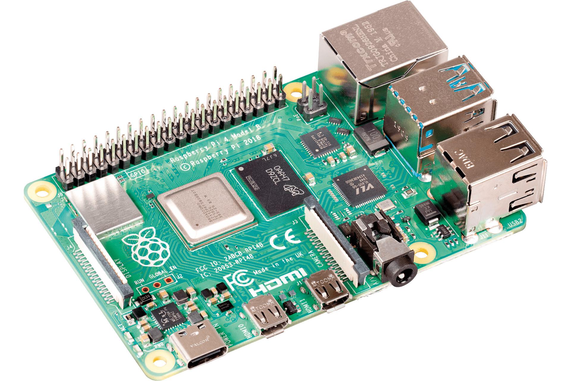 Raspberry Pi 4 8GB als NAS
