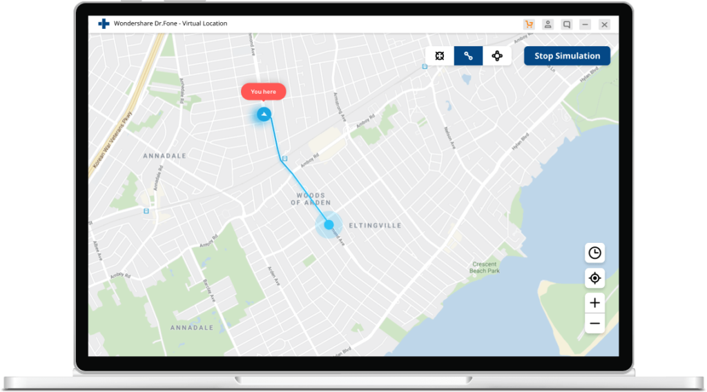 iPhone GPS Standort fälschen
